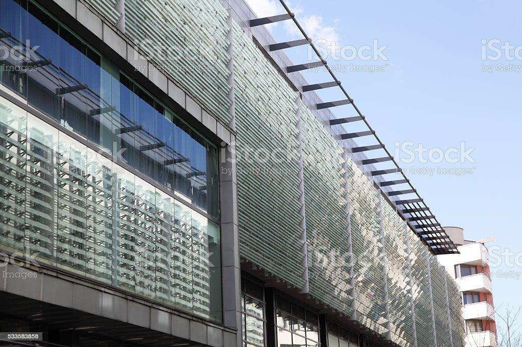 Bristol modern architecture stock photo
