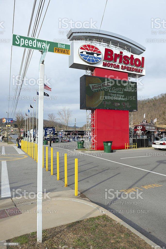 Bristol Motor Speedway stock photo