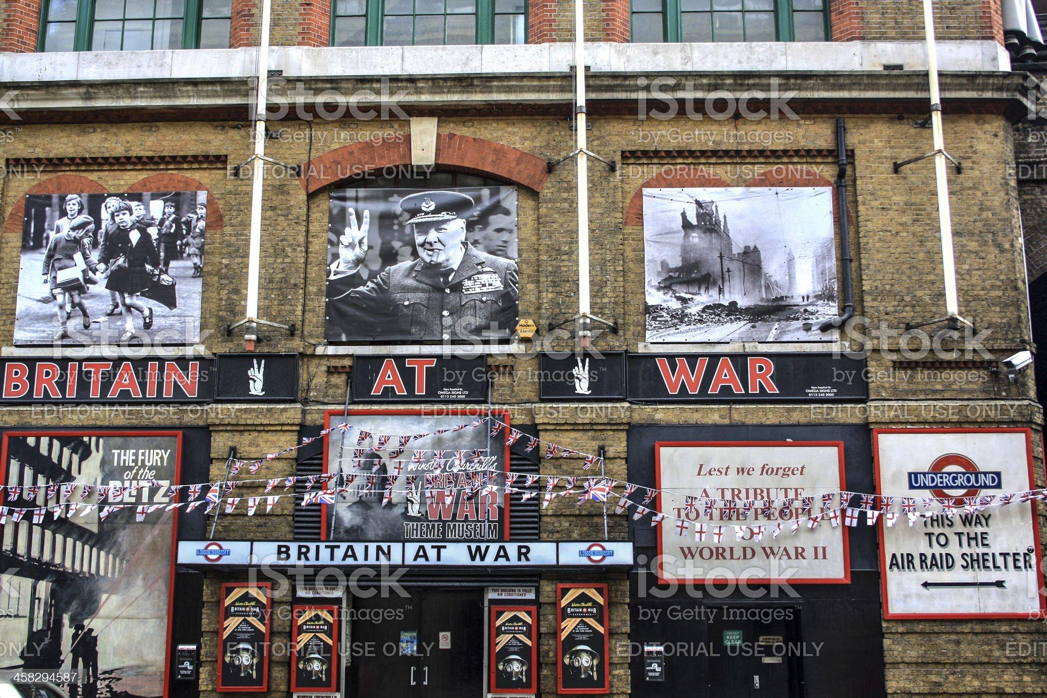 Britain at War royalty-free stock photo