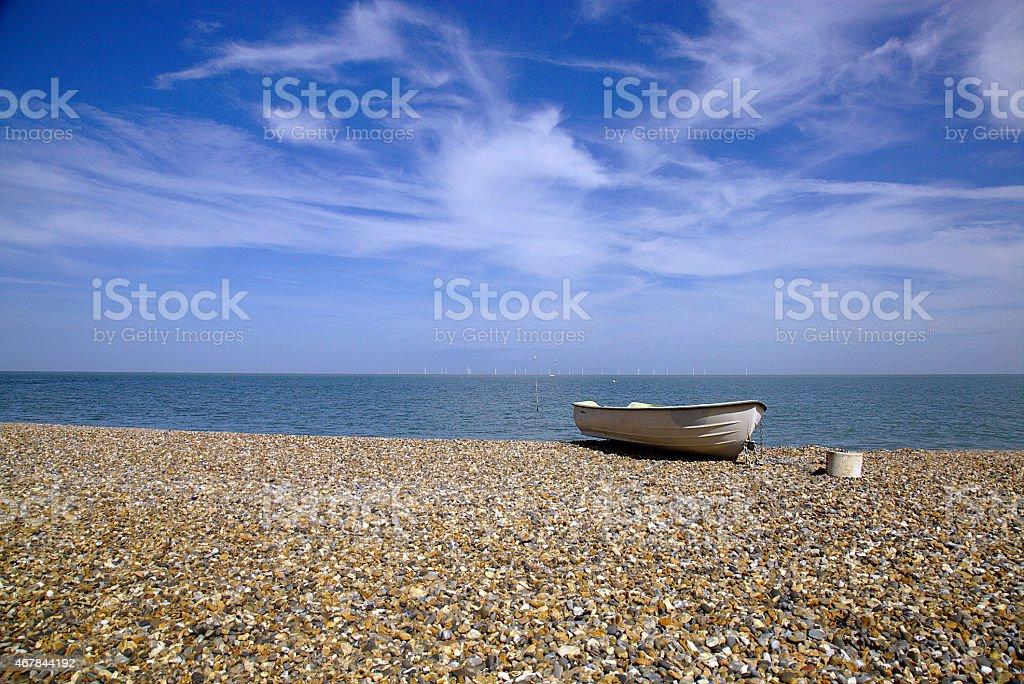Britain Beach stock photo