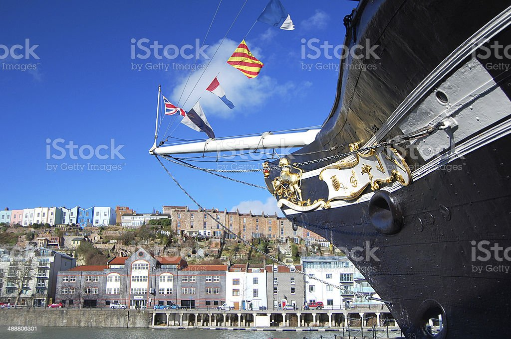 Britain Bow Bristol stock photo