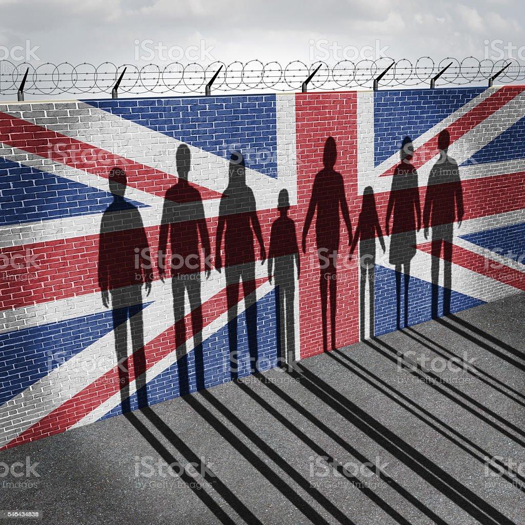 Britain Immigration stock photo