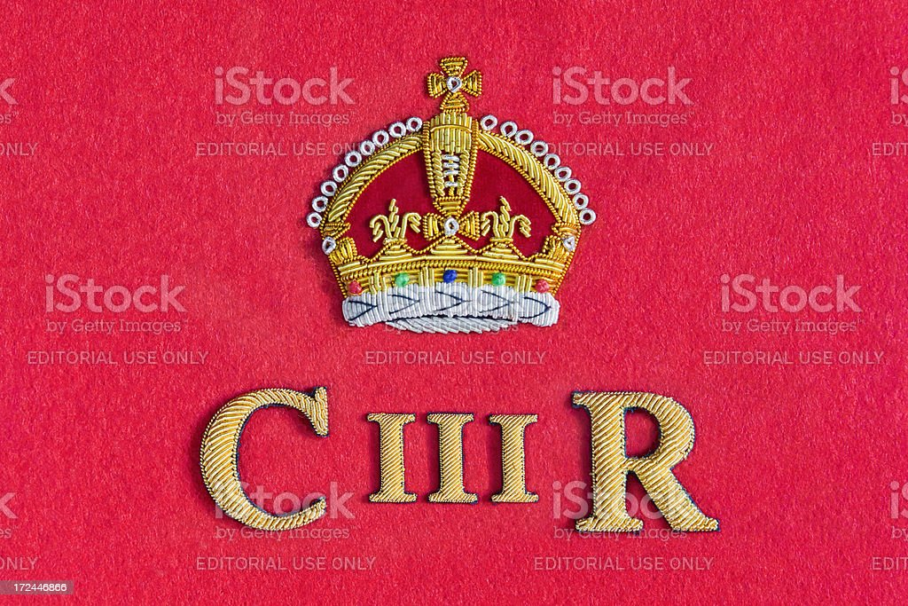 Britain's Future King royalty-free stock photo