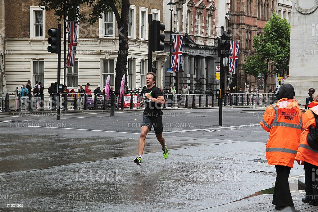 British corsa di 10 km di Londra 2012 foto stock royalty-free