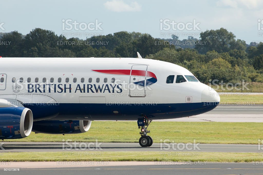 British Airways A320 stock photo