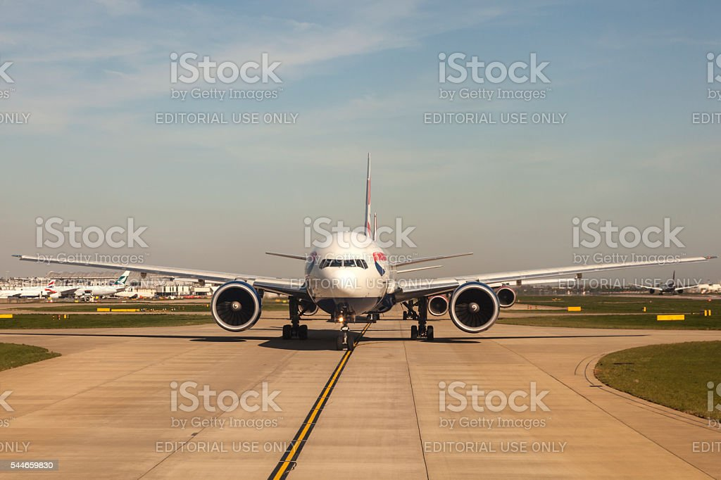 British Airways Airbus A320 stock photo