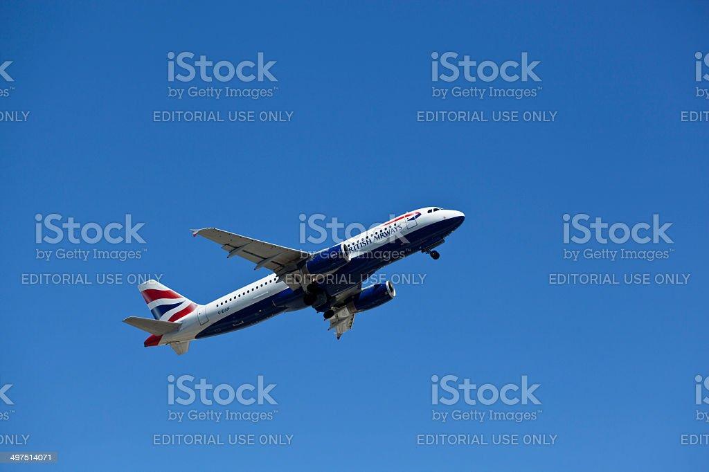 British Airways royalty-free stock photo