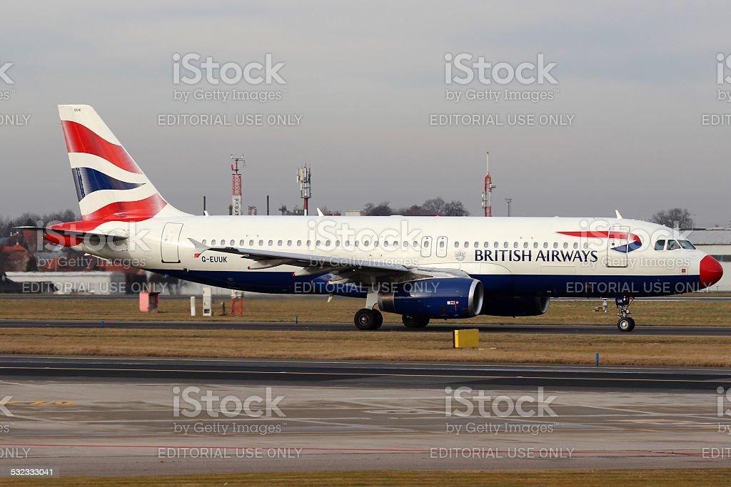 British Airways stock photo
