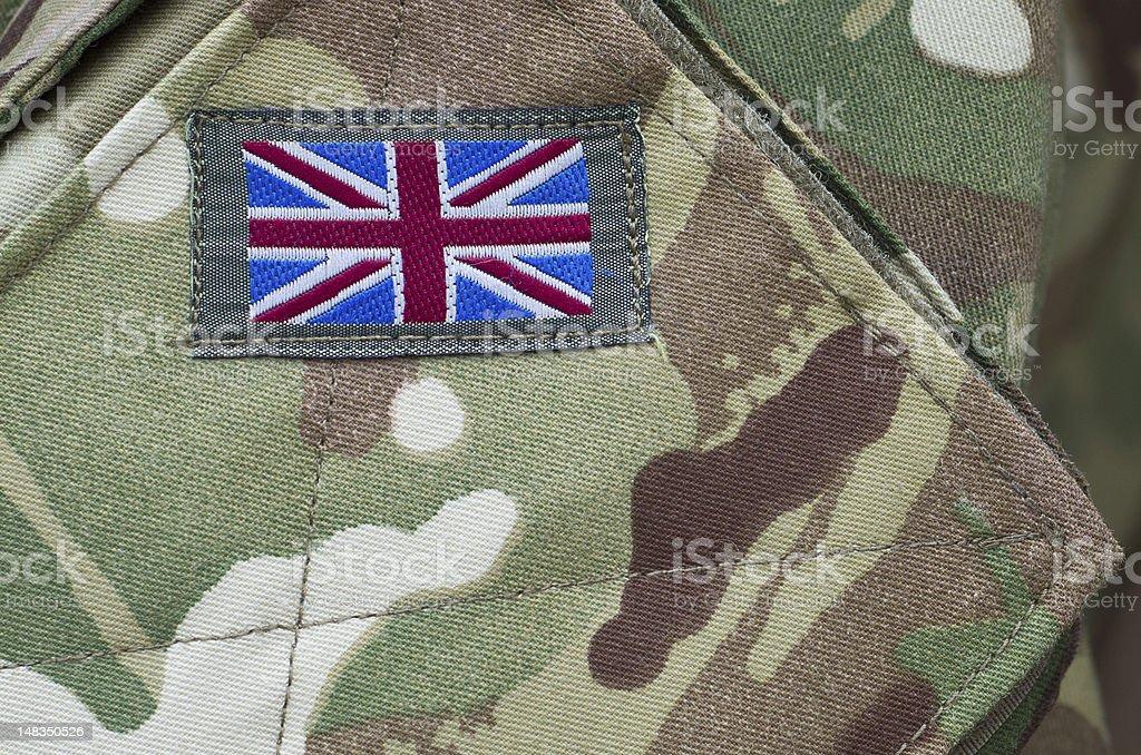British Army uniform stock photo