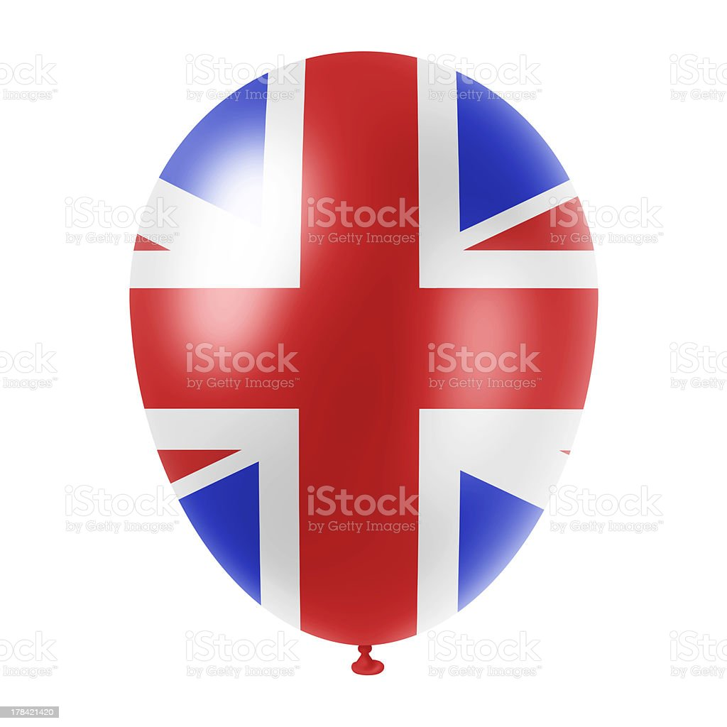 british balloon royalty-free stock photo