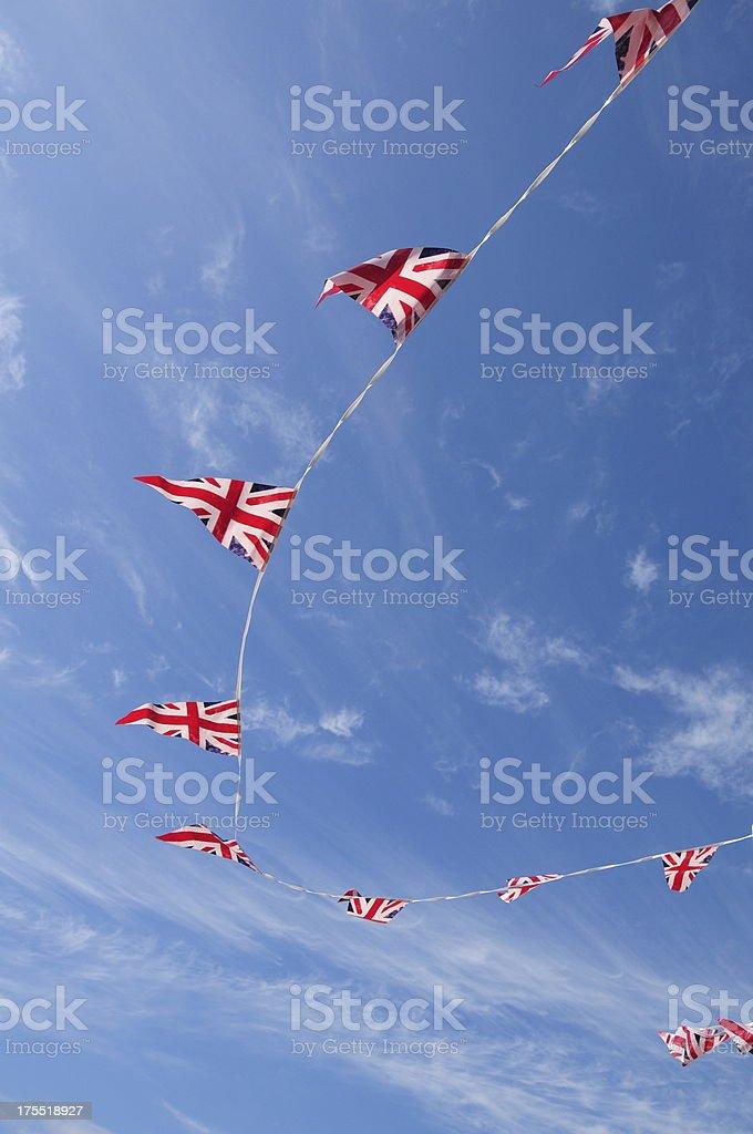 British bunting. royalty-free stock photo