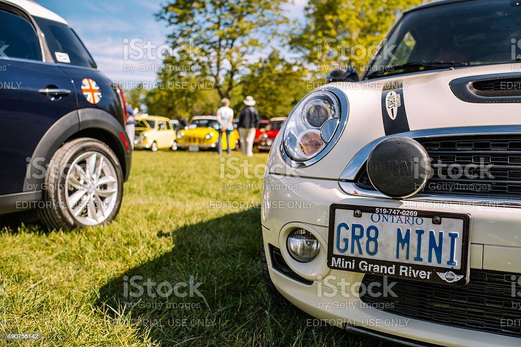 British Car Day in Canada stock photo