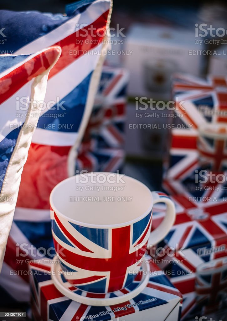 British Car Day stock photo