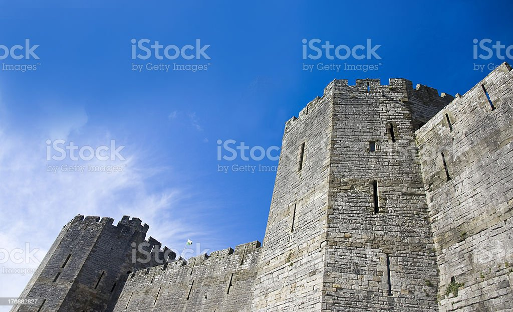 British Castle stock photo