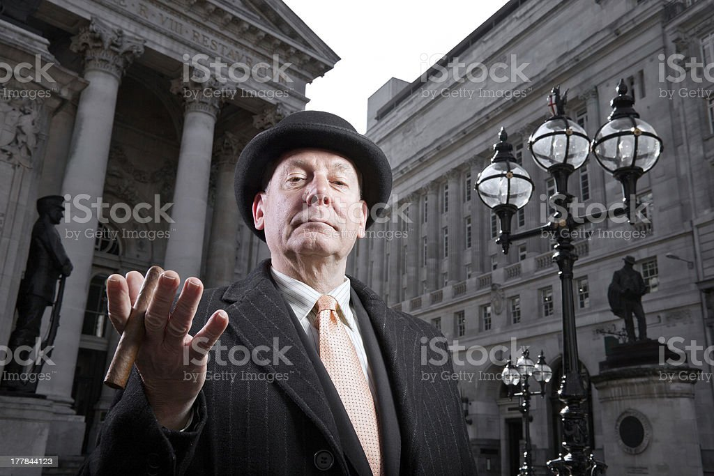 british city banker royalty-free stock photo