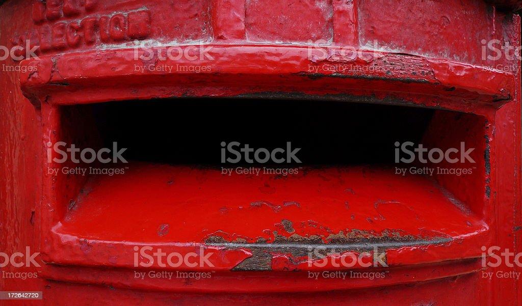 British Colonial Post Box royalty-free stock photo