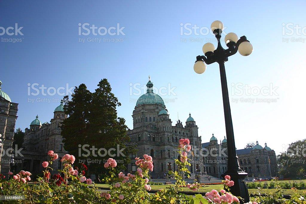 British Columbia Legislature stock photo