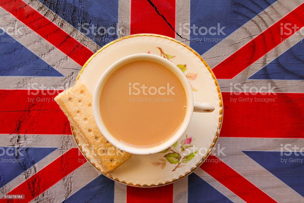 British Cuppa stock photo