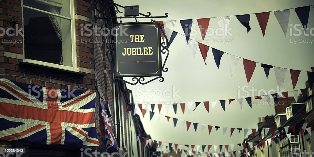 British Diamond Jubilee Celebrations royalty-free stock photo