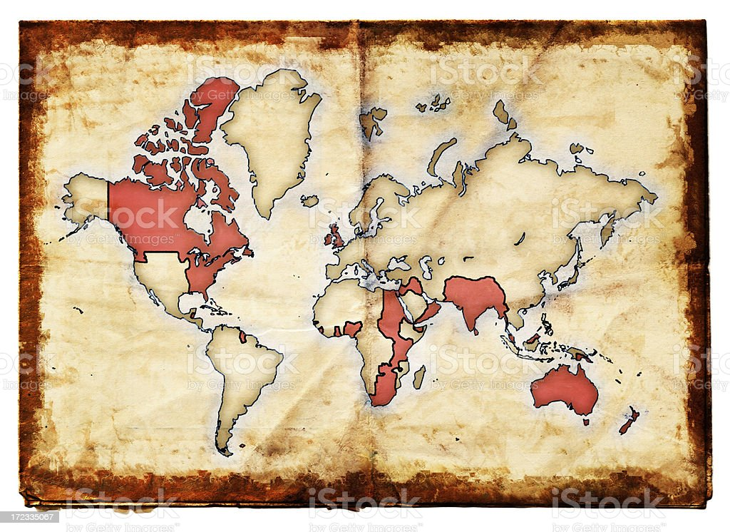 British Empire XXL stock photo