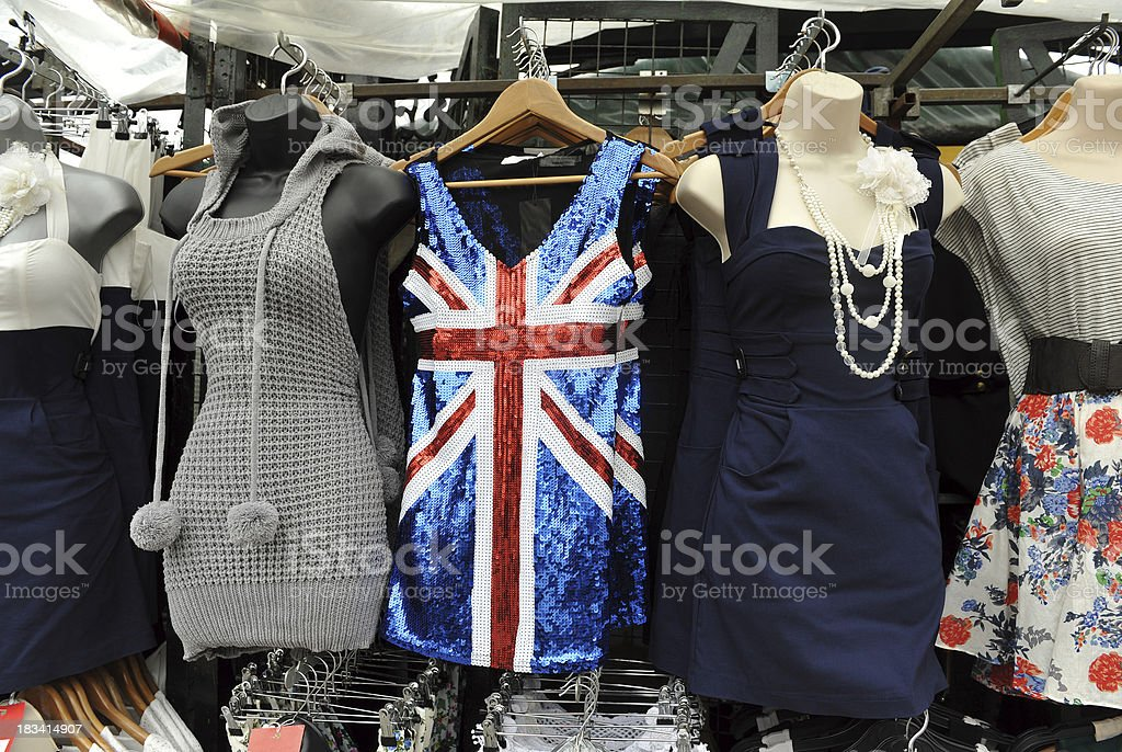 British Fashions stock photo