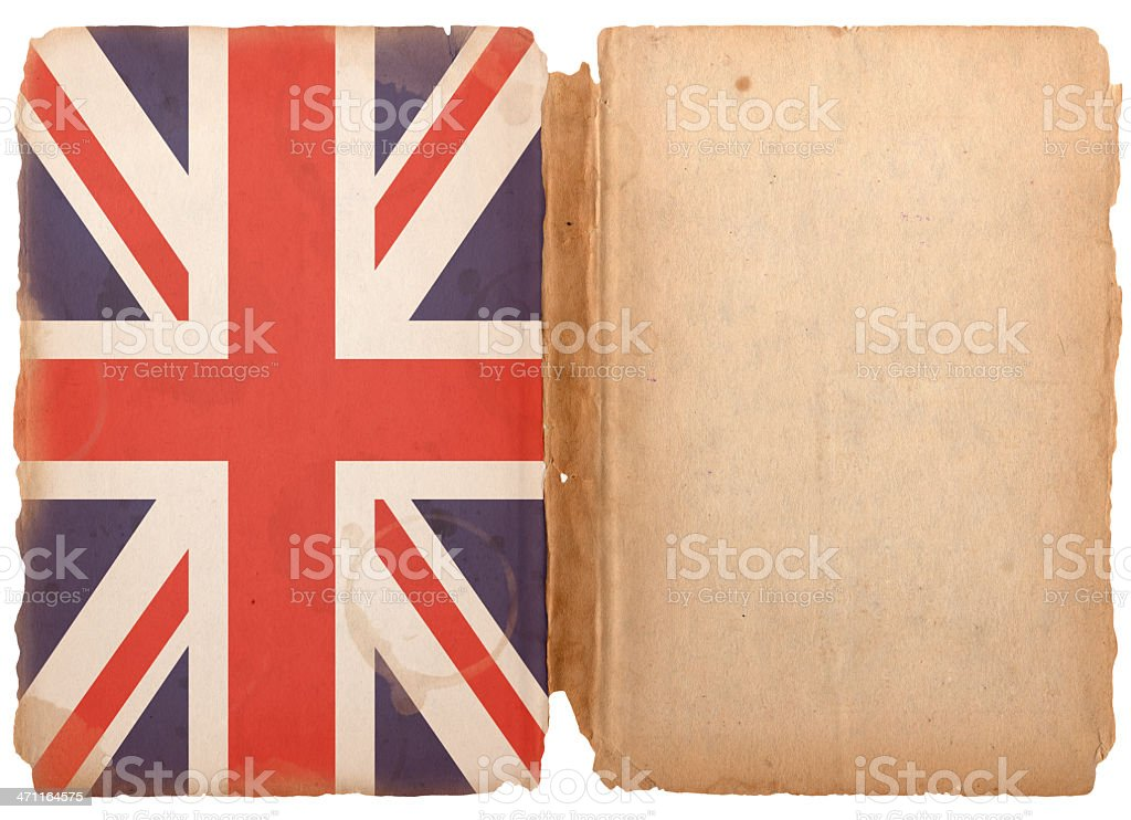 British Flag Grunge XXXL royalty-free stock photo