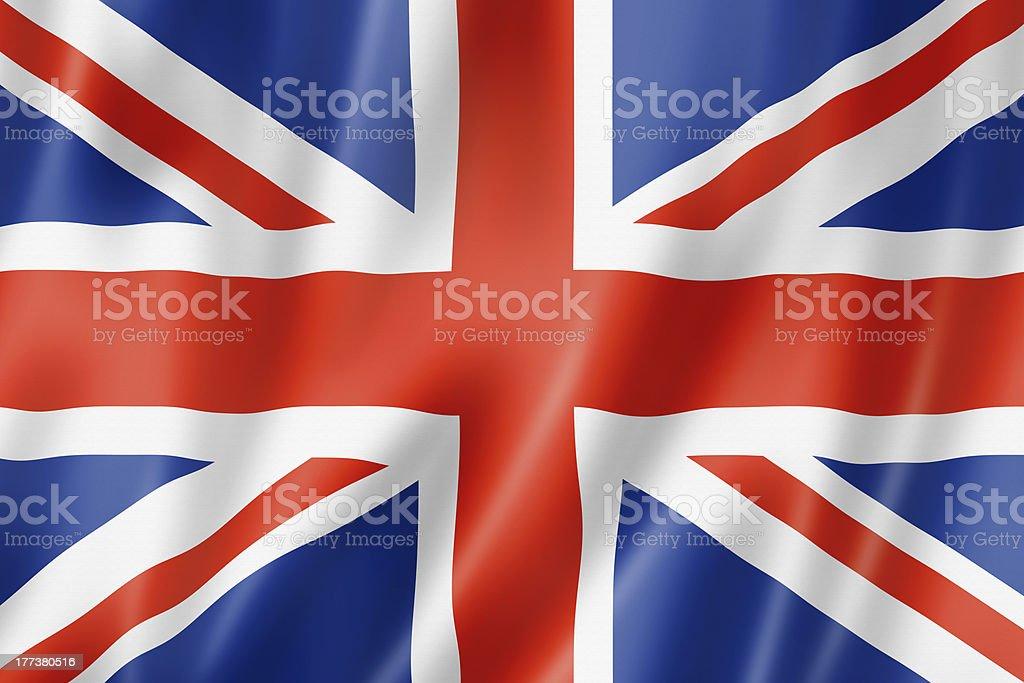 British flag stock photo