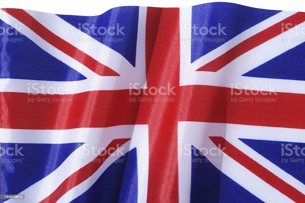british flag, Union Jack royalty-free stock photo