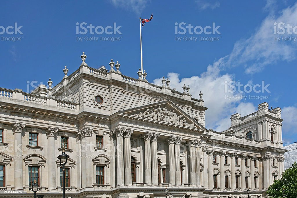 British government building stock photo