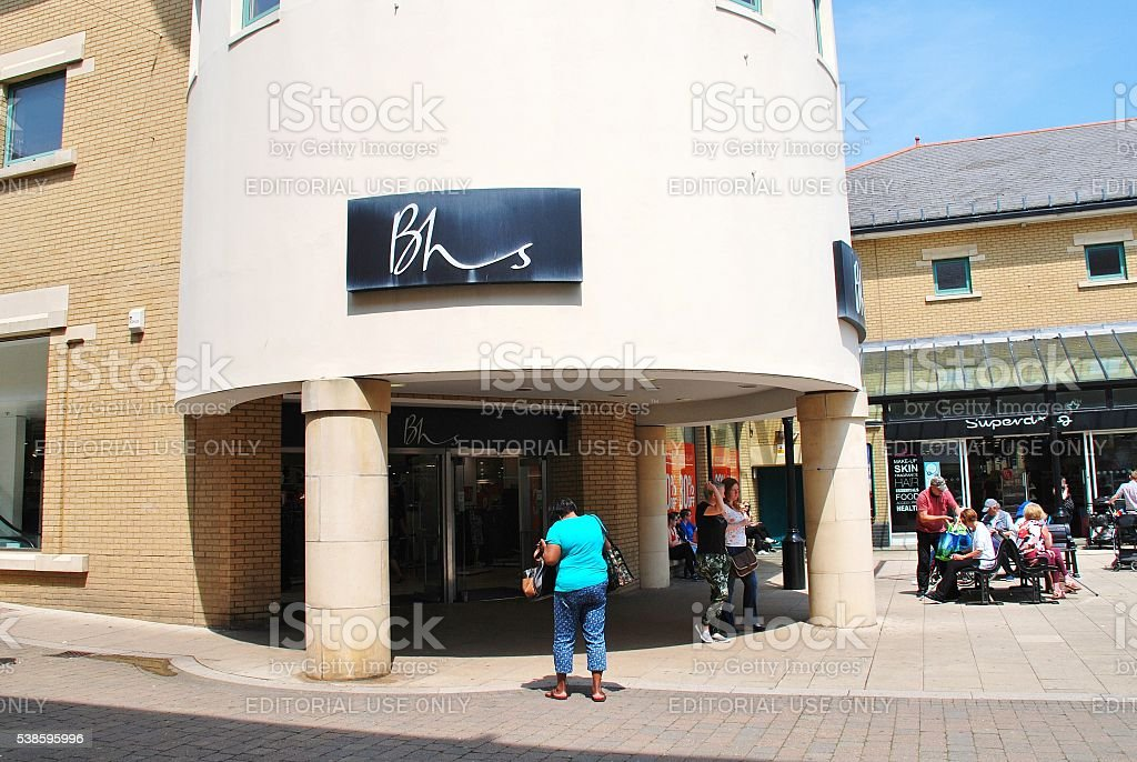 British Home Stores branch, Hastings stock photo