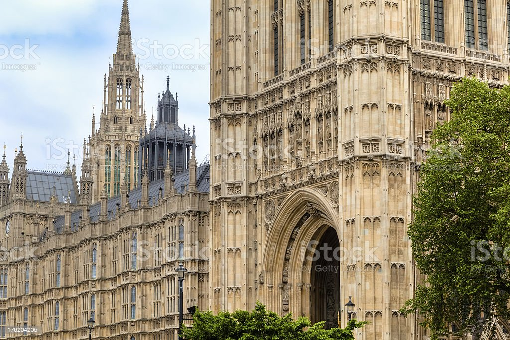 British House of Parliament royalty-free stock photo