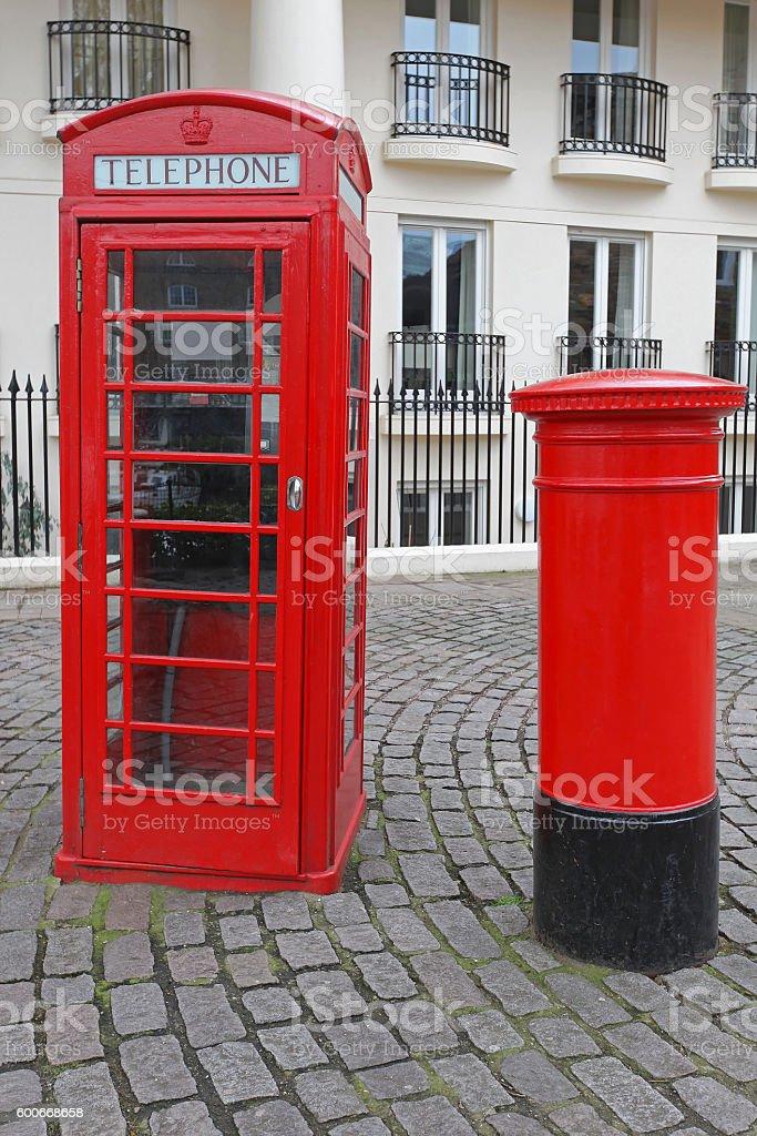 British Icons stock photo
