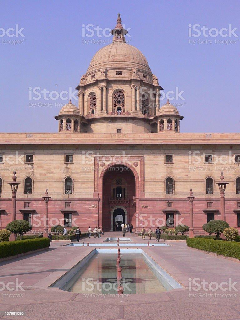 British Indian Architechure royalty-free stock photo
