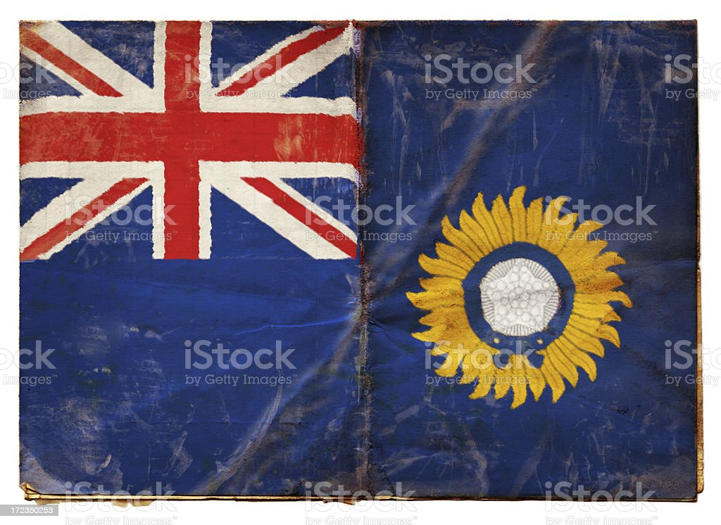 British Indian Empire Flag (XXL) royalty-free stock photo