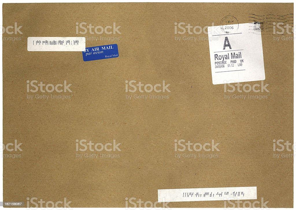british mail royalty-free stock photo