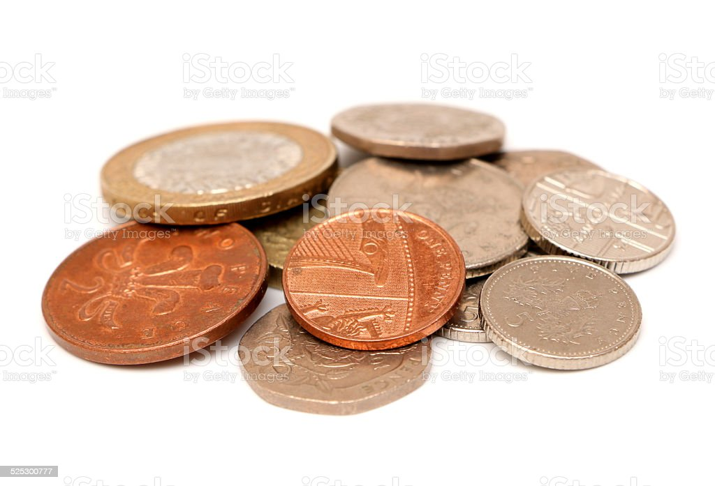 British Money stock photo