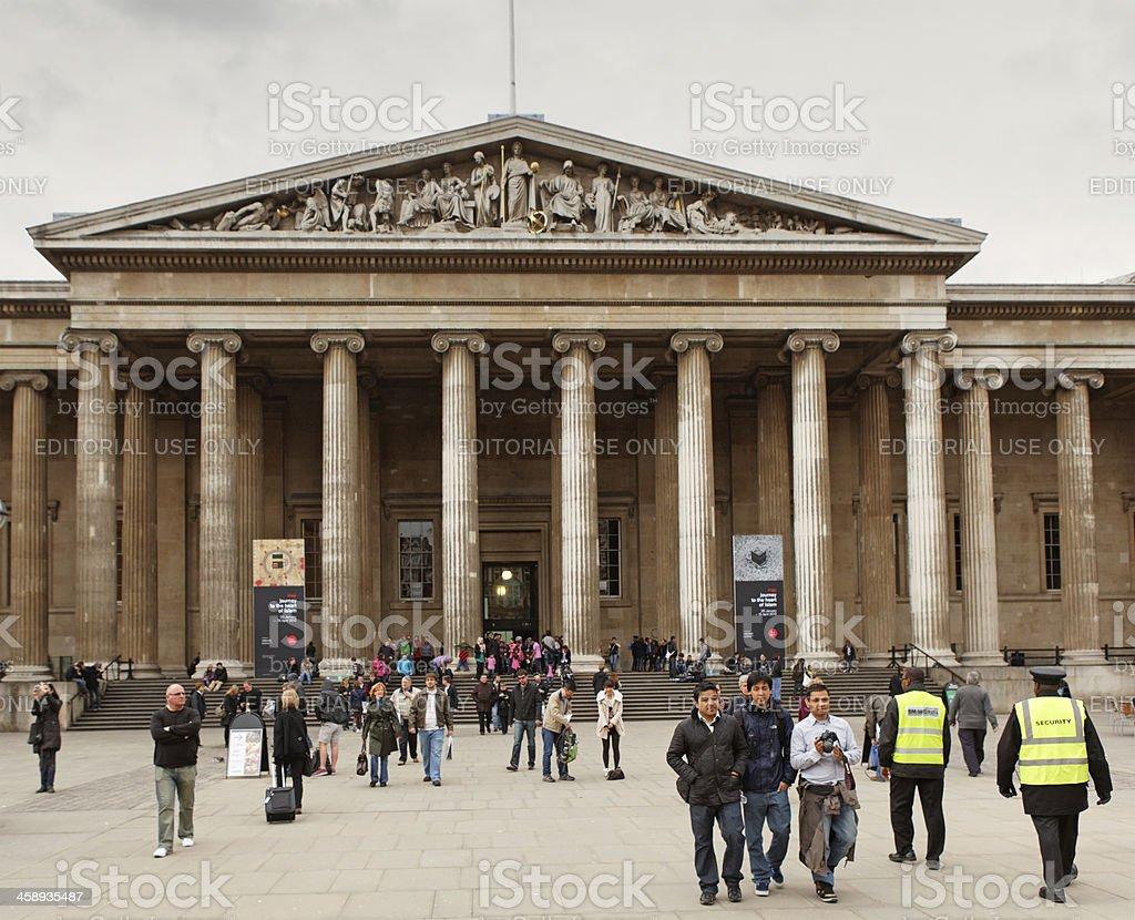 British Museum in London royalty-free stock photo
