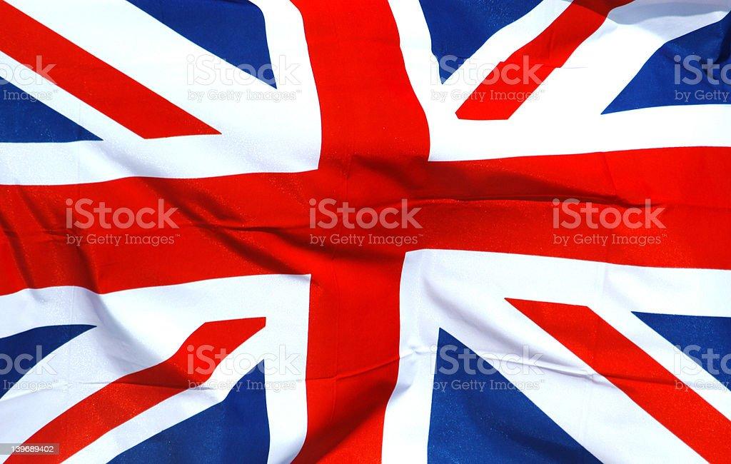 British National Flag stock photo