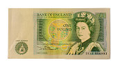 British One Pound Note