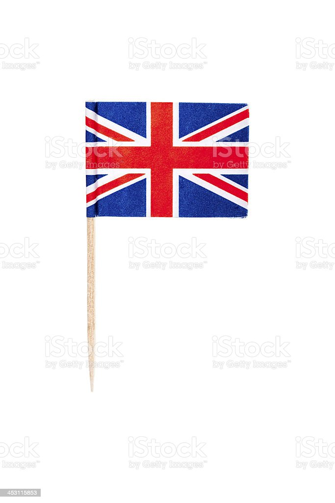 British paper flag royalty-free stock photo