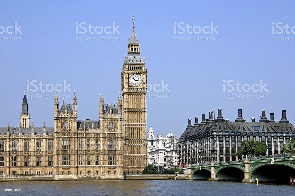 British Parliament royalty-free stock photo