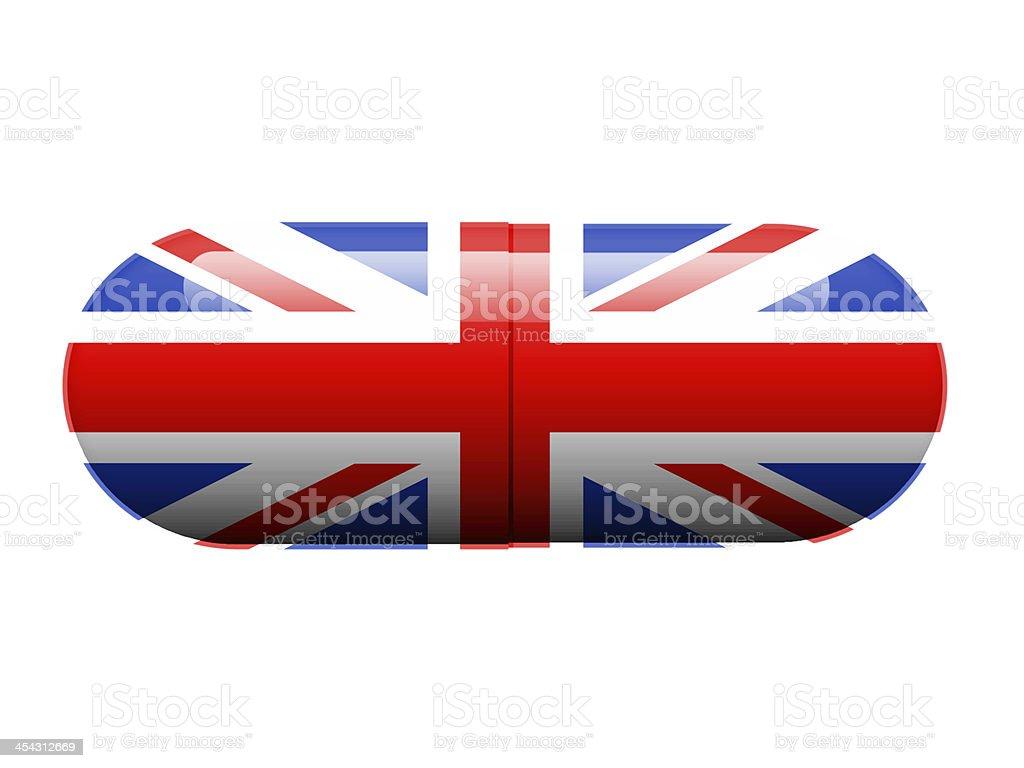 British pill royalty-free stock photo