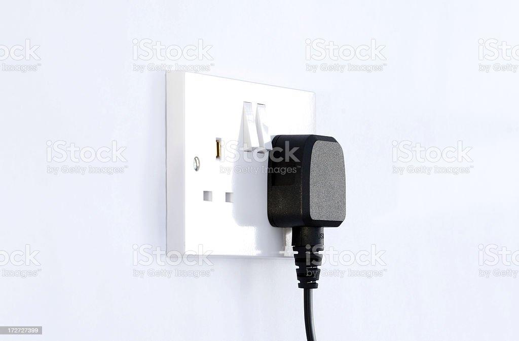 British Plug royalty-free stock photo