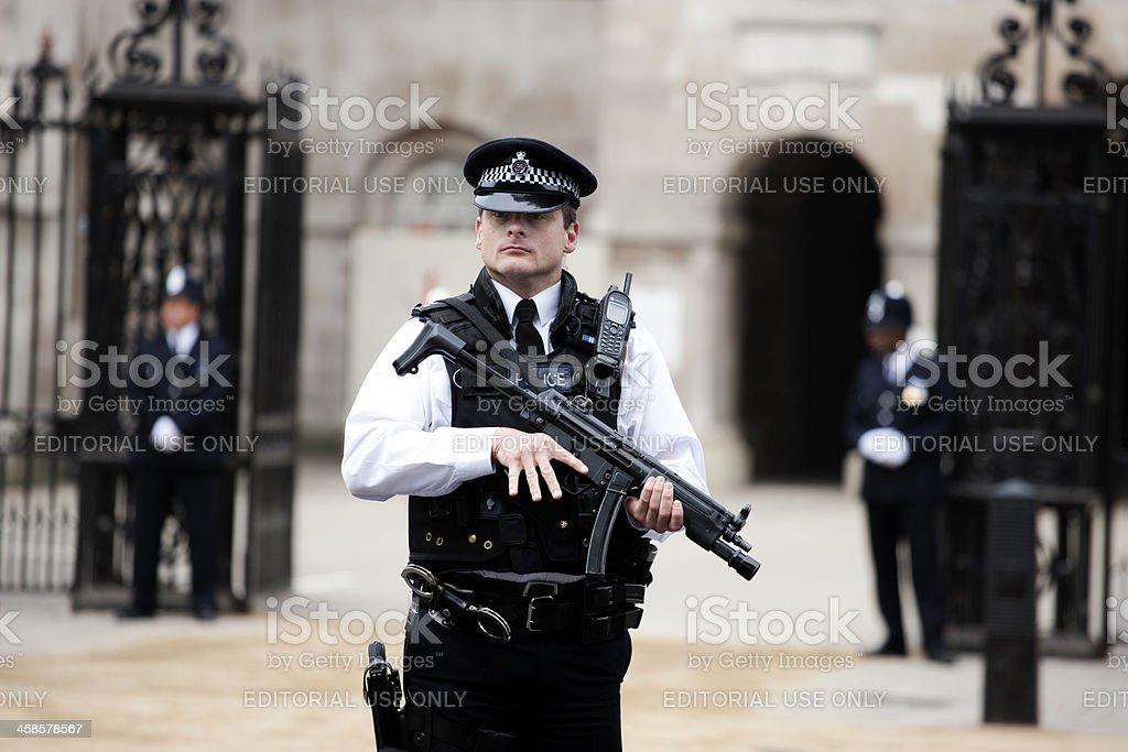 British Police stock photo