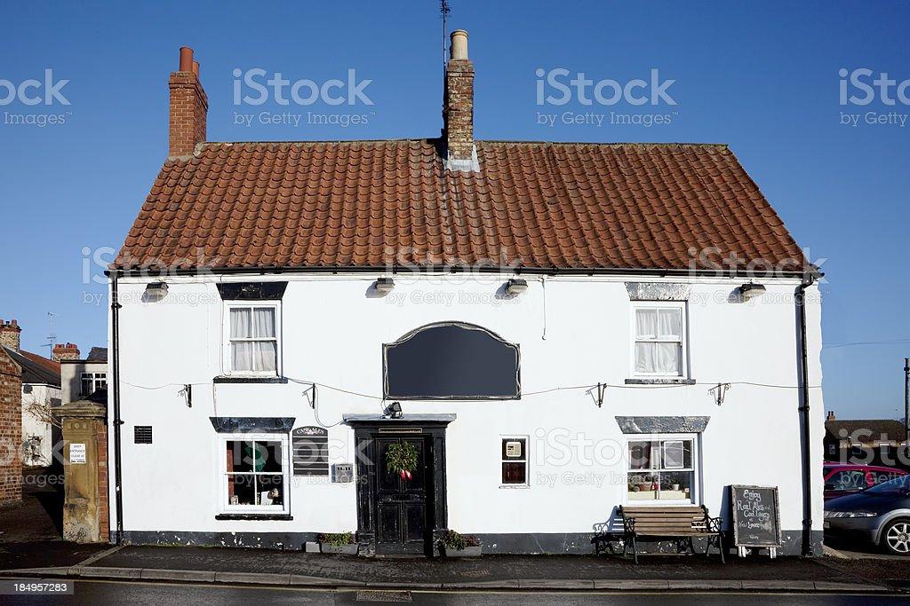 British pub stock photo