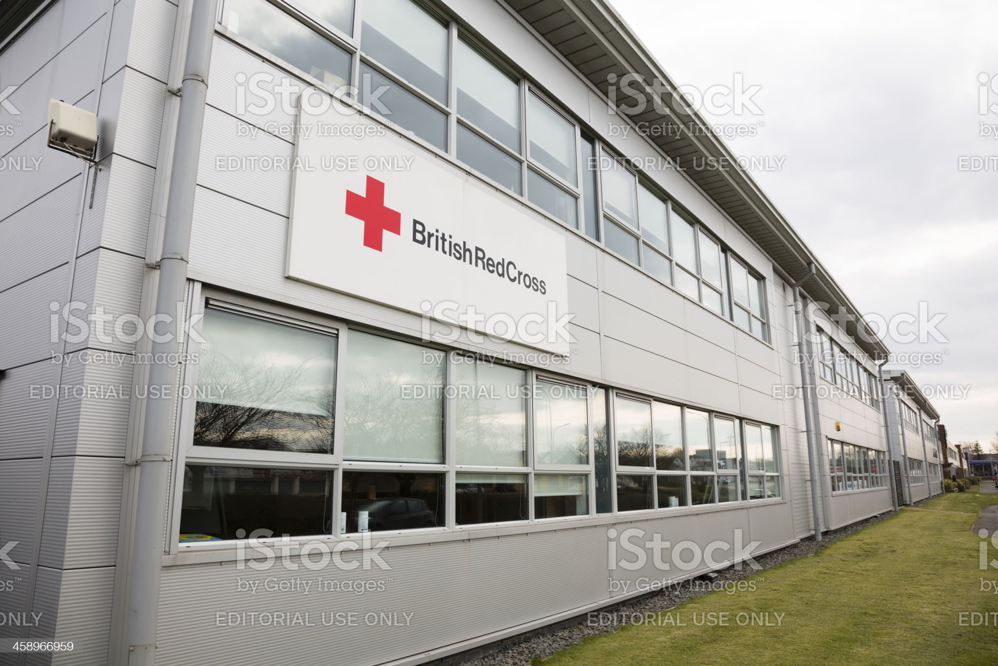 British Red Cross Offices, Glasgow royalty-free stock photo