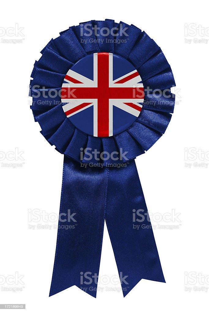 British ribbon stock photo