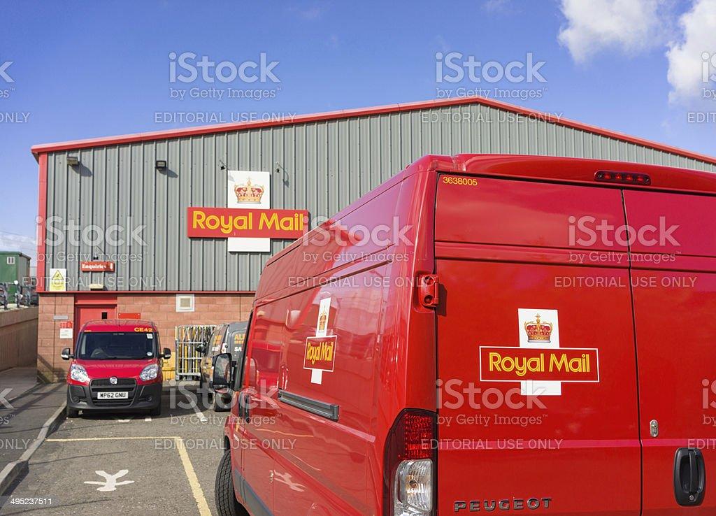 British Royal Mail stock photo