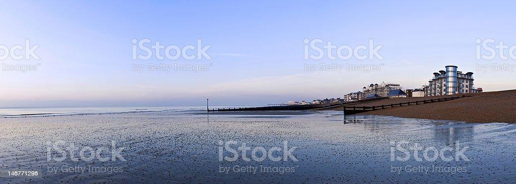 British Seaside stock photo