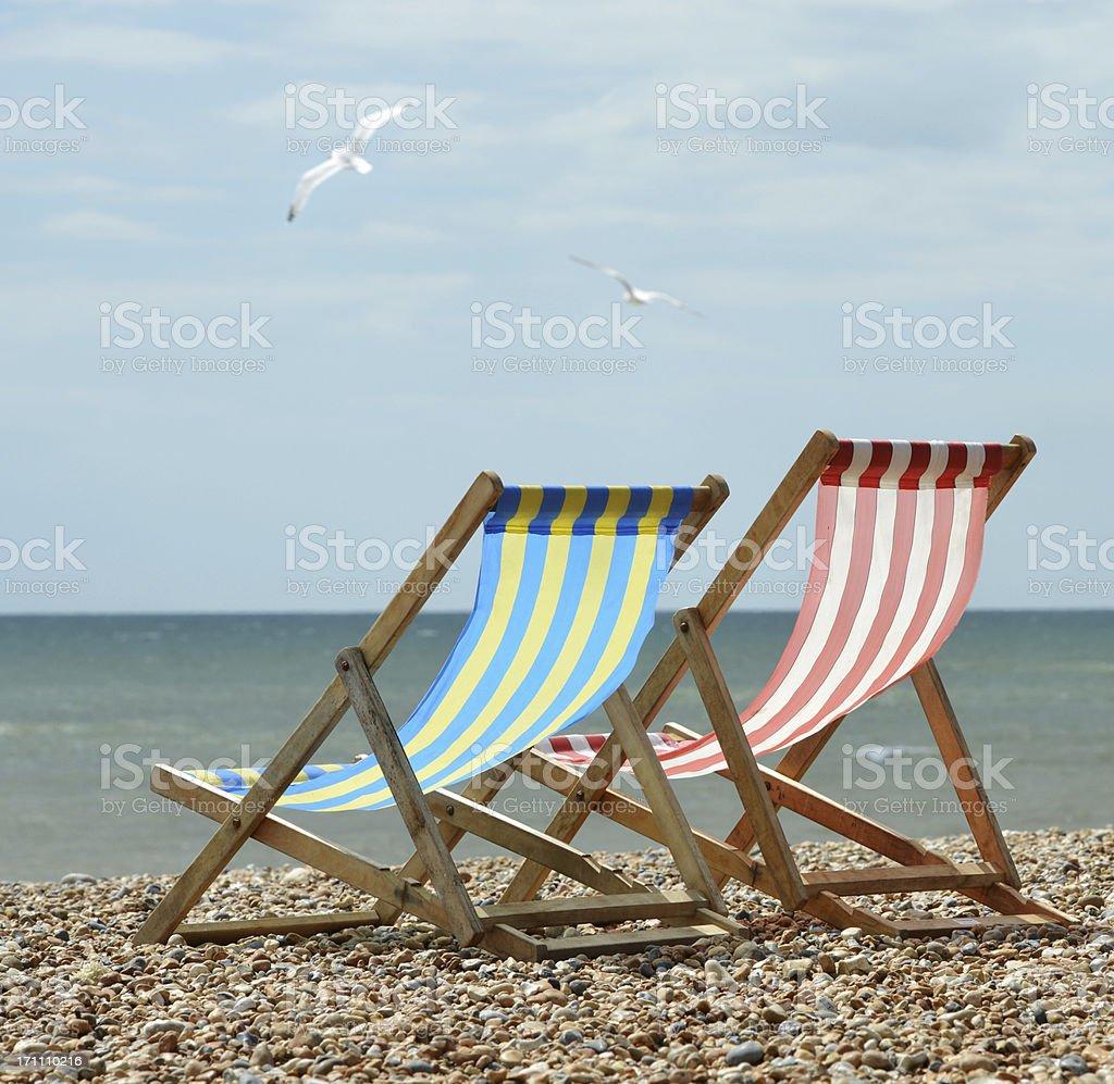 British Seaside royalty-free stock photo